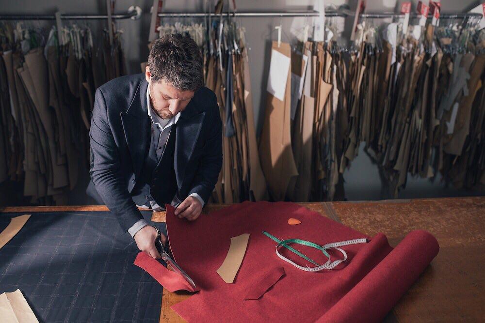 Valter odela po meri - krojenje materijala
